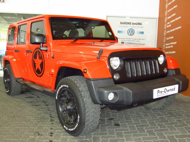 2015 JEEP Wrangler UNLTD SAHARA 3.6L V6 A/T