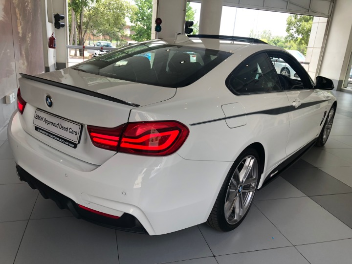 2018 BMW 420D COUPE M SPORT A/T (F32)