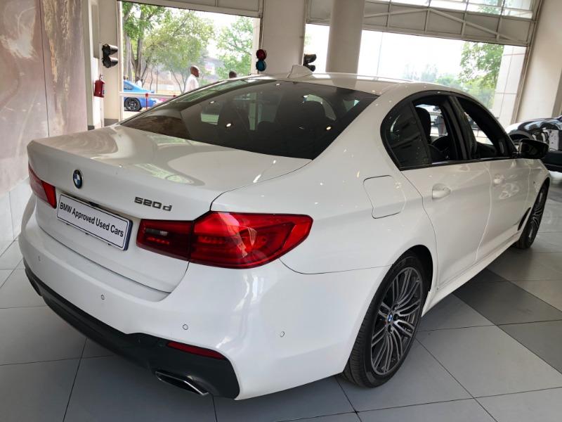 2018 BMW 520d M SPORT A/T (G30)