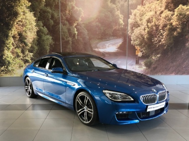2018 BMW 650i GRAN COUPE M SPORT