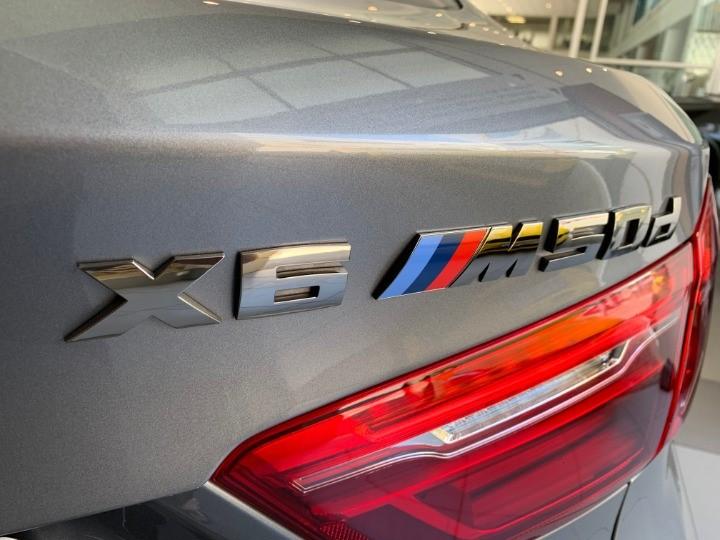 2018 BMW X6 M50d (F16)