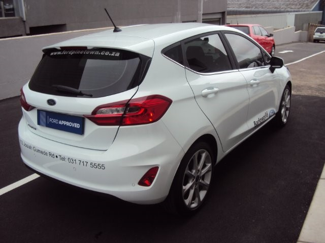 2018 FORD FIESTA 1.0 ECOBOOST TITANIUM A/T 5DR