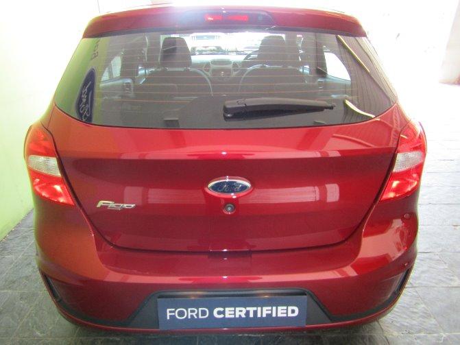 2018 FORD FIGO 1.5Ti VCT TREND A/T (5DR)