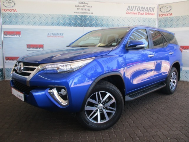 2017 TOYOTA FORTUNER 2.8GD-6 4X4