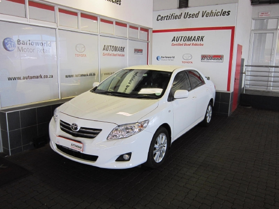 TOYOTA COROLLA 1.8 EXCLUSIVE A/T (2007-9) - (2010-7)
