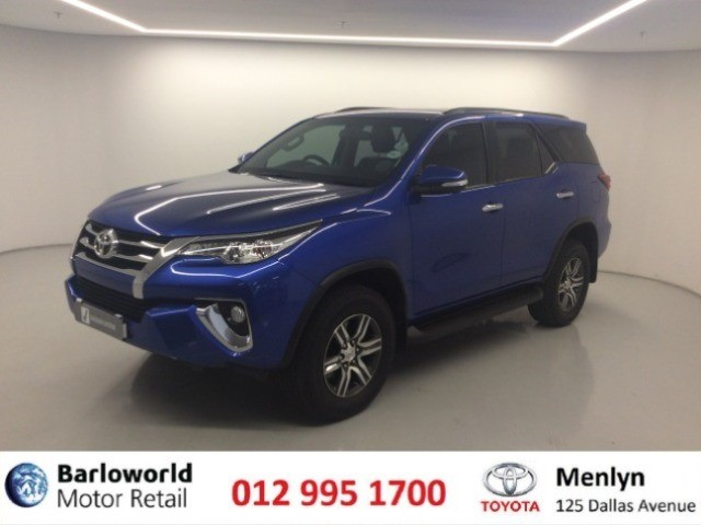 2016 TOYOTA FORTUNER 2.4GD-6 R/B A/T