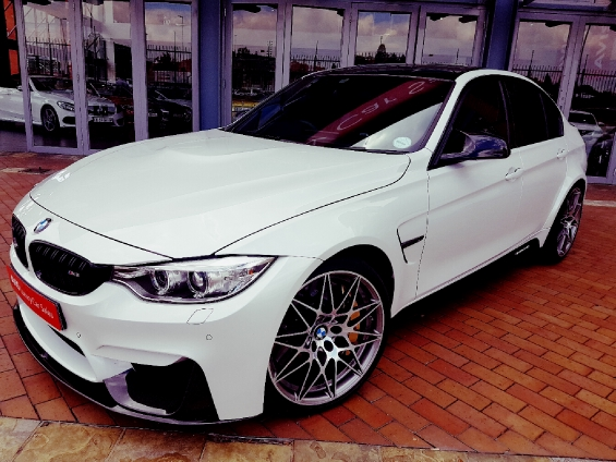 BMW M3 M-DCT COMPETITION (F80)