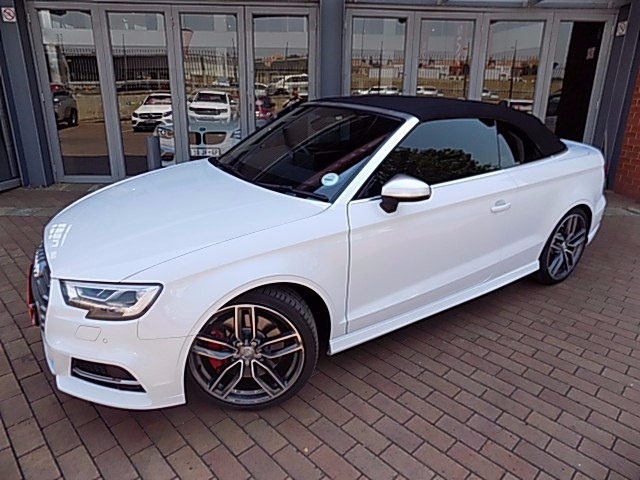 2018 AUDI S3 CABRIOLET STRONIC
