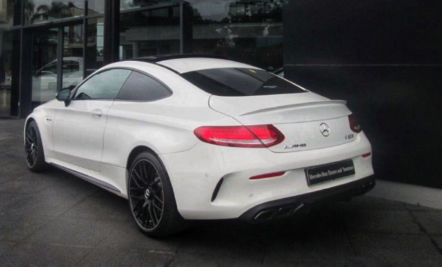 2018 MERCEDES-BENZ AMG COUPE C63 S