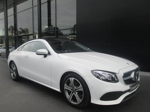 2018 MERCEDES-BENZ E 300 COUPE