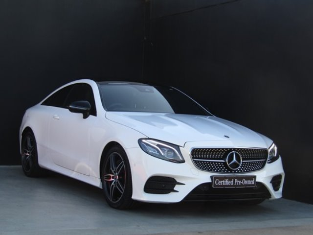 2018 MERCEDES-BENZ E 220d COUPE