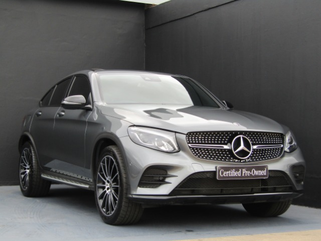 2018 MERCEDES-BENZ GLC COUPE 250d AMG