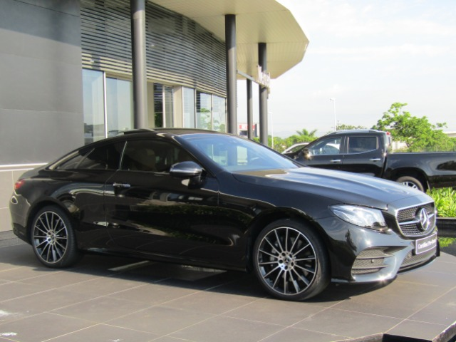 2018 MERCEDES-BENZ E 400 COUPE 4MATIC