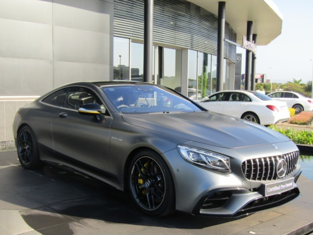2018 MERCEDES-BENZ AMG S63 COUPE