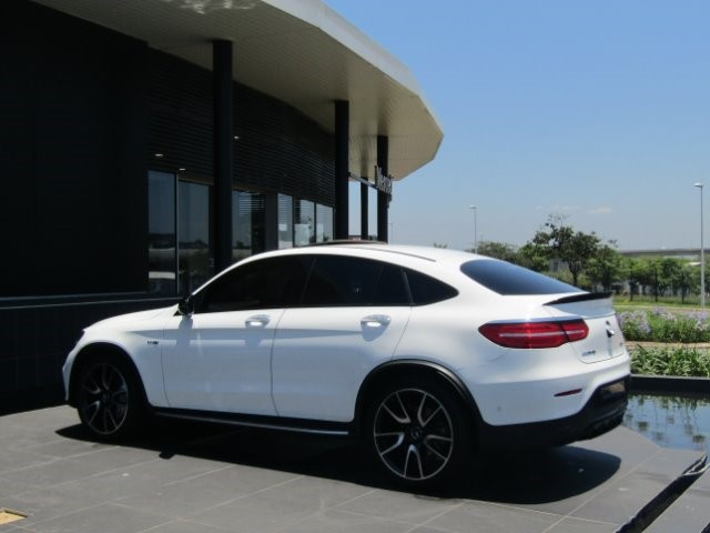 2019 MERCEDES-BENZ AMG GLC 43 COUPE 4MATIC