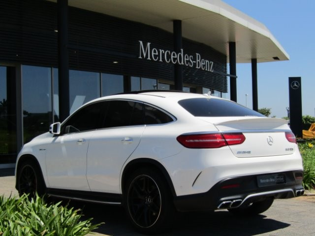 2017 MERCEDES-BENZ GLE COUPE 63 S AMG