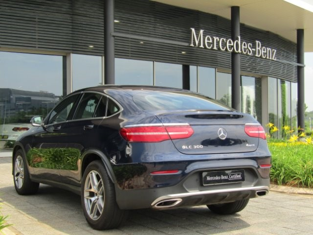 2018 MERCEDES-BENZ GLC COUPE 300 AMG