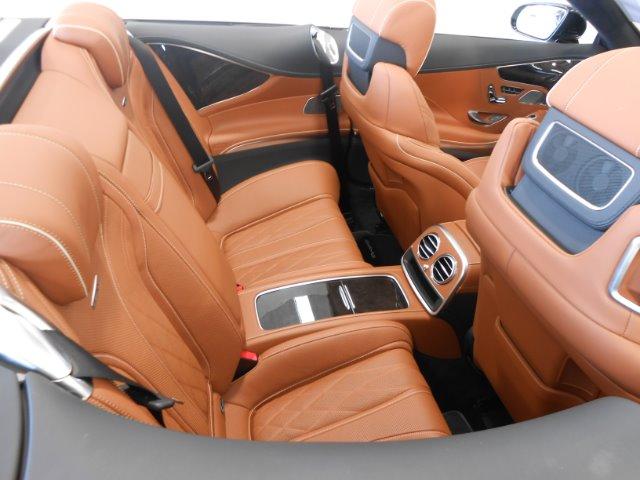 2017 MERCEDES-BENZ AMG S63 CABRIO