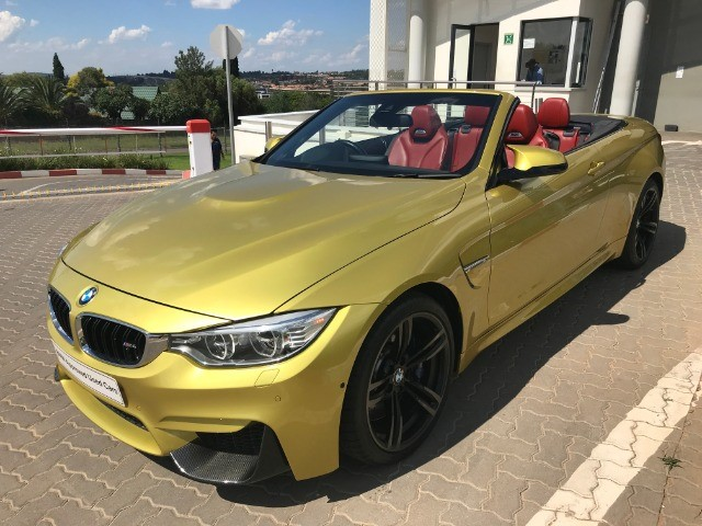 2014 BMW M4 CONVERTIBLE M-DCT (F83)